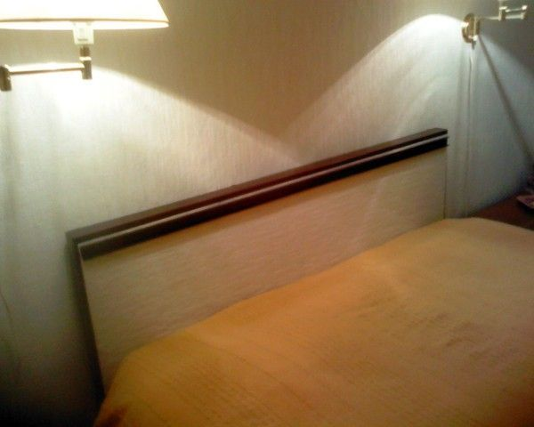 Meubles et petits objets - Fixation tete de lit au mur ...